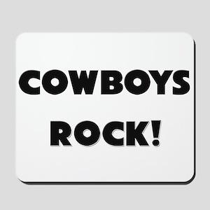 Cowboys ROCK Mousepad