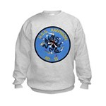 USS AMPHION Kids Sweatshirt