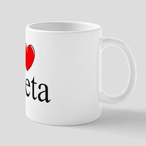 """""""I Love (Heart) Gaeta"""" Mug"""