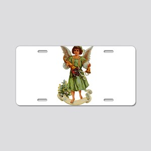 Angel illustration 11 Aluminum License Plate