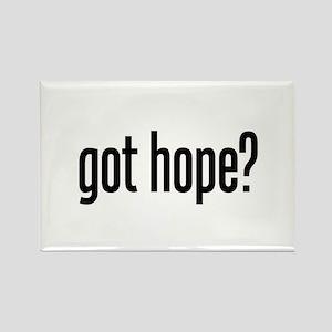 got hope? Rectangle Magnet