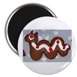Gingerbread Nessie Magnet
