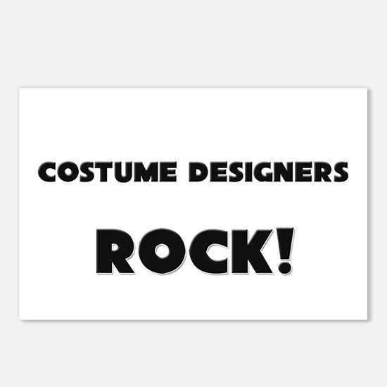 Costume Designers ROCK Postcards (Package of 8)