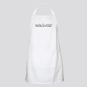 Hands of Praise/no name added BBQ Apron