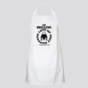 In Drilling Shit Happens BBQ Apron
