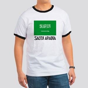 Saudi Arabia Flag Ringer T