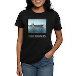 Women's Dark USS Midway T-Shirt