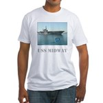 Fitted USS Midway T-Shirt