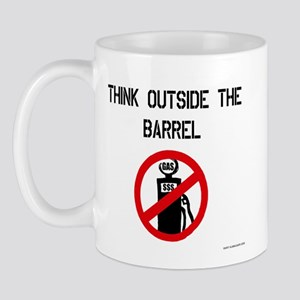Think Outside The Barrel Mug