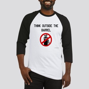Think Outside The Barrel Baseball Jersey