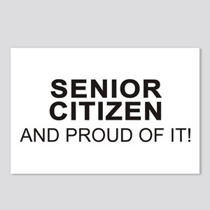 The Proud Senior Citizen Postcards (Package of 8)