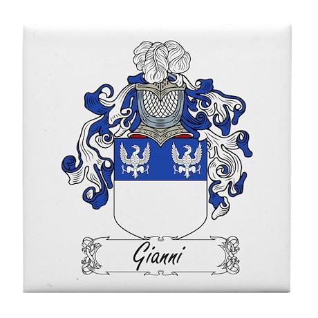 Gianni Family Crest Tile Coaster