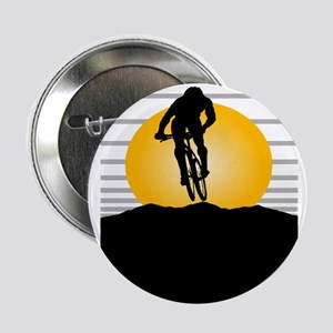"""Silhouette Cyclist 2.25"""" Button (10 pack)"""