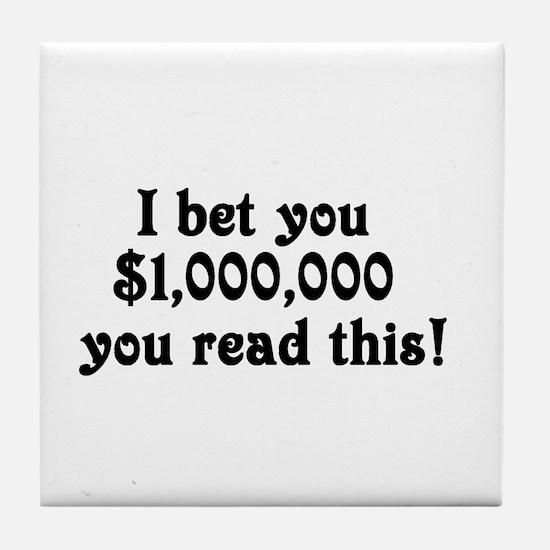 Million Tile Coaster