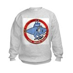 USS ANGLER Kids Sweatshirt