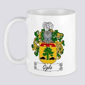 Giglio Family Crest Mug