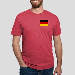 Flag of Germany Mens Tri-blend T-Shirt