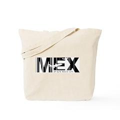 Mexico City Airport Code MEX Tote Bag