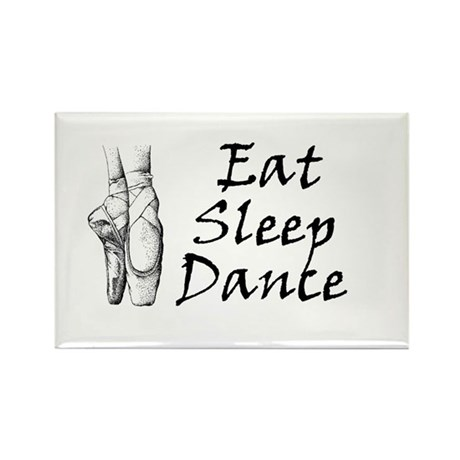 Eat, sleep, dance Rectangle Magnet