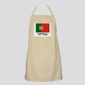 Portugal Flag BBQ Apron