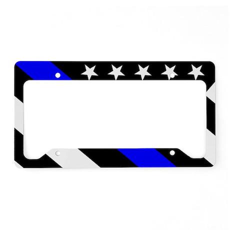 Thin Blue Line License Plate Bracket - Best Plate 2018