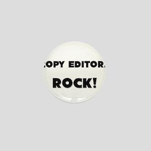 Copy Editors ROCK Mini Button