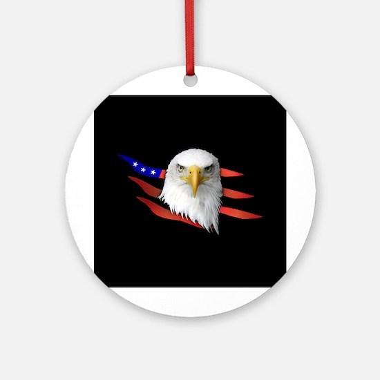 Anerican Eagle Ornament (Round)