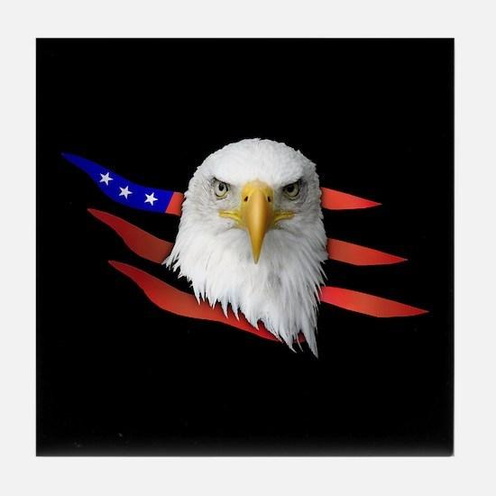 Anerican Eagle Tile Coaster