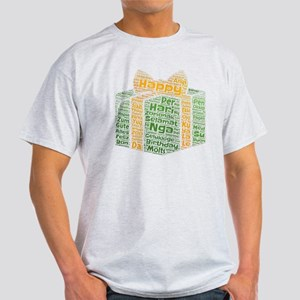 happy birthday languages wordcloud T-Shirt