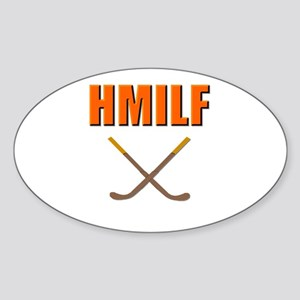 HMILF Hockey Mom I'd Like To... Oval Sticker
