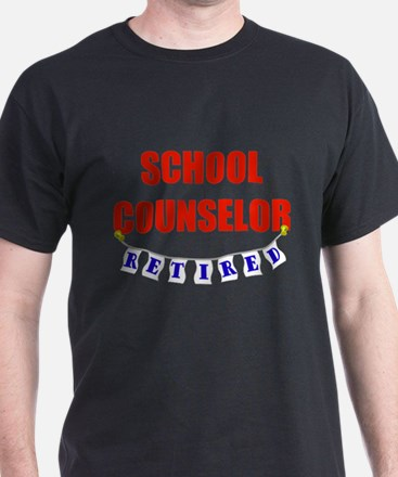 Retired School Counselor T-Shirt