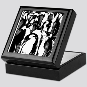 Penquins Keepsake Box
