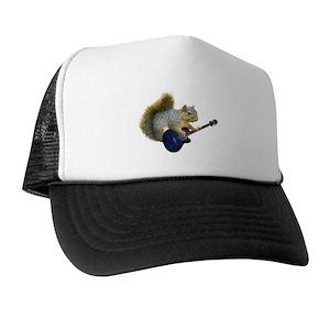 97a14a972ee Guitar Trucker Hats - CafePress