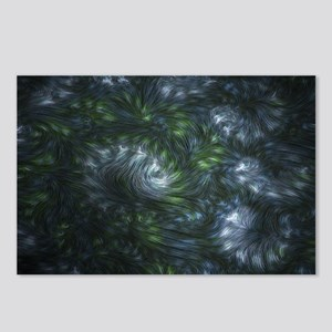 Fractal Twists Postcards (Package of 8)