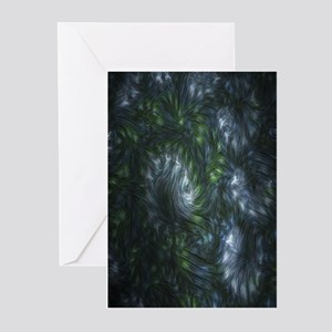 Fractal Twists Greeting Cards (Pk of 10)