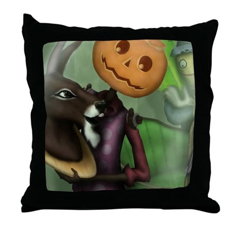 Deconstructing the Gump Throw Pillow by ozgump