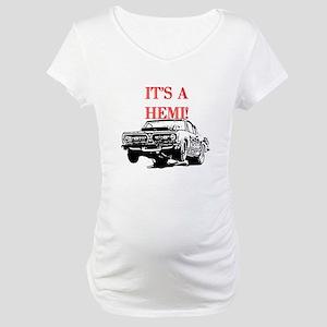 AFTM It's A Hemi! Maternity T-Shirt