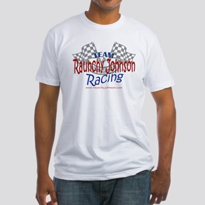 Raunchy Johnson Racing Team Fitted T-Shirt