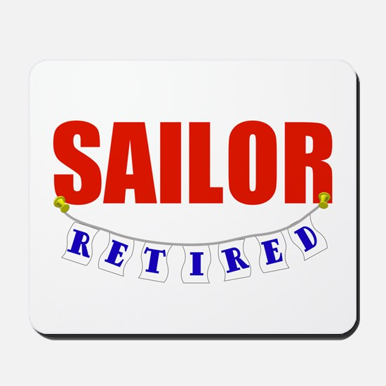 Retired Sailor Mousepad