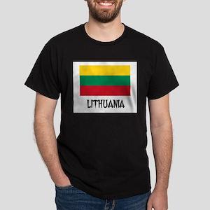 Lithuania Flag Dark T-Shirt