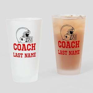 Football Coach Drinking Glass