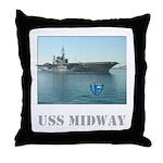 USS Midway Pillow