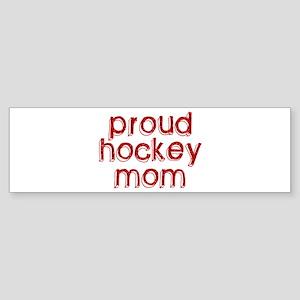 Proud Hockey Mom Bumper Sticker