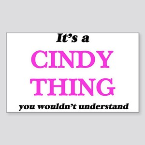 It's a Cindy thing, you wouldn't u Sticker