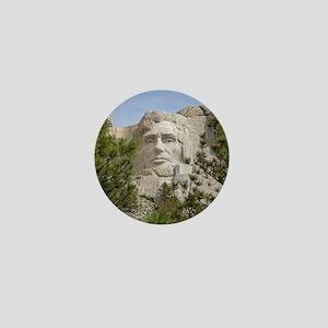 Rushmore Abe Mini Button