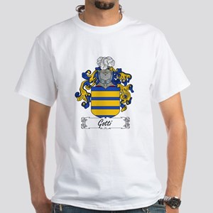Gotti Family Crest White T-Shirt