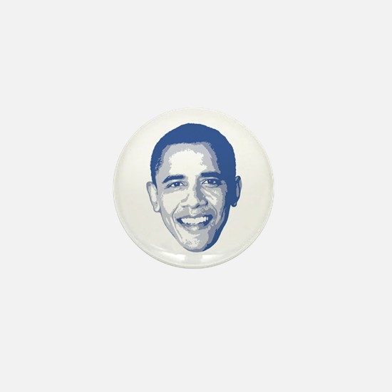 Obama Face Mini Button