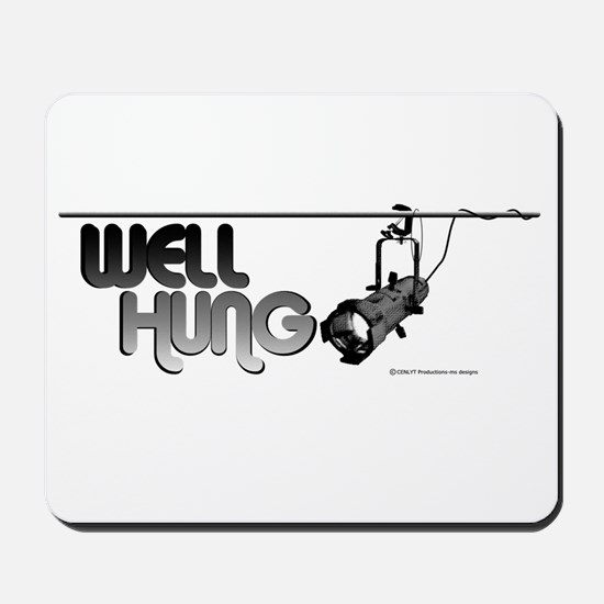 Well Hung Mousepad