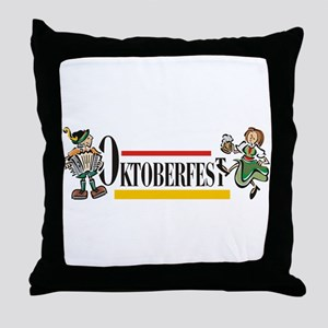 Oktoberfest Throw Pillow