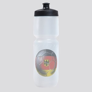 German Soccer Ball Sports Bottle